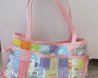Baby Girl's Pink Diaper Bag - REDUCED