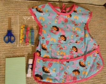 Dora the Explorer Child's Art Apron