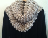 Outlander Inspired Infinity Cowl-Bone Color