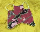 Unicorns and Zen Garden Hen Saddle - Standard