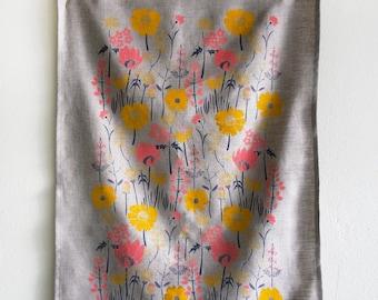 Meadow Tea Towel Natural