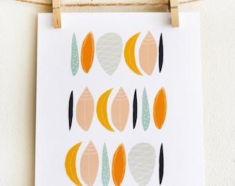 Agave Leaves Print