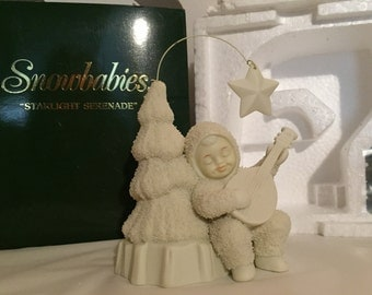 Snowbabies Winter Tales-Starlight Serenade