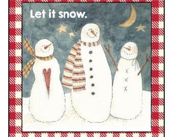 Let It Snow Label