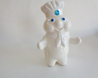 Pillsbury Dough Boy Utensil Holder  1988