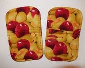 apples pears magnetic microwave mitts country harvest kitchen aid