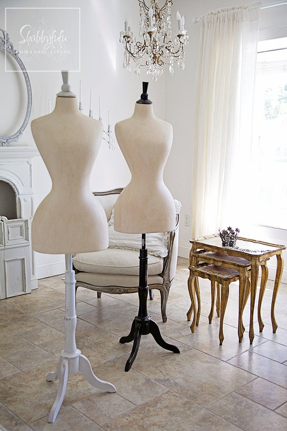 French STYLE Wasp Waist Mannequin...Corset Maker..Shabby Chic