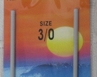 "Hairpin crochet staple size 3/0 gray metal crochet fork lace ""PONY"""