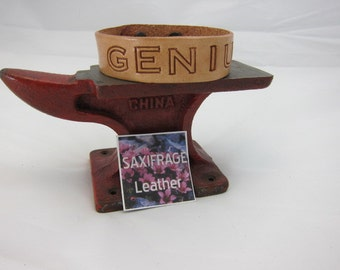 Leather GENIUS Wristband - Sealed
