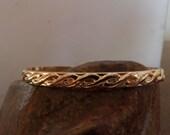 Newborn Bracelet--Gold Filled Celtic Weave