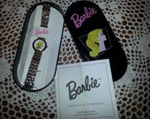RTS, Barbie watch with case, young lady