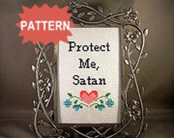 PDF/JPEG Protect Me, Satan (Pattern)