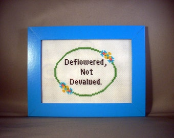 "Deflowered, Not Devalued - ""Girls"" Quote"