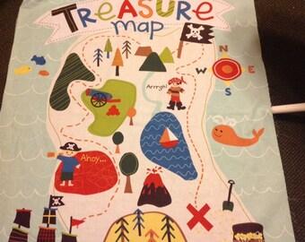 Treasure Map Quilt