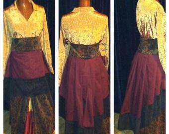 Custom Made Steampunk skirt