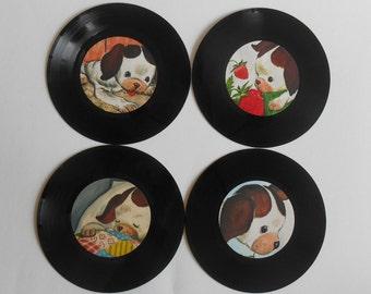 Poky Little Puppy Nursery Record Art