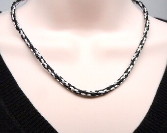 Hand Made Kumimo Braided Cord Necklace