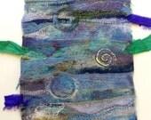 Earth Layers ~ fiber art