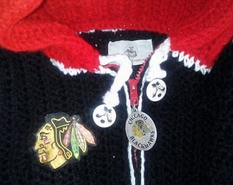 Chicago Blackhawks Hockey Hoodie from the Olivia Grace Nolan Colection