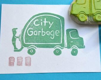 Truck Stamp Etsy