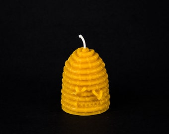 Pure Beeswax Skep Candle Skept
