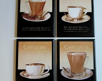 Items Similar To Big Coffee Lover Kitchen Wall Decor