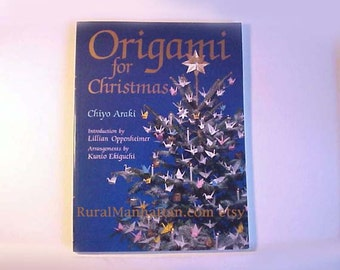 Origami for Christmas Book Christmas Ornaments Ornie Paper Crafting Christmas Tree Feather Tree Scrapbooking Decoration Japanese Craft Cards