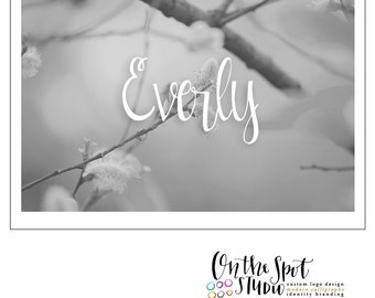 Everly Hand Drawn Font by OTSS