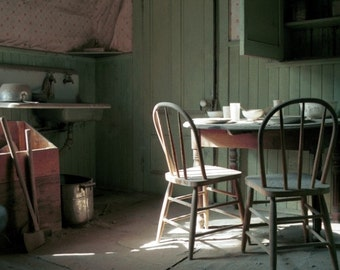 Tom Miller's House - Bodie, California ghost town - home, office, den, wall decor