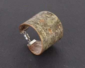 Birch bark wood bracelet, Clade III