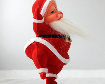 Vintage Christmas Dancing Pose Santa Claus...1970's