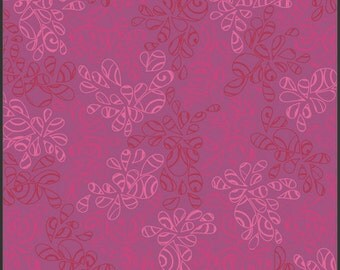Art Gallery • Nature Elements • Cyclamen • Cotton Fabric 0.54yd (0,5m) 002071