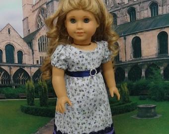 Blenheim Palace - Regency Era ensemble for American Girl