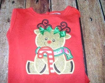 Cute Little Reindeer Bodysuit