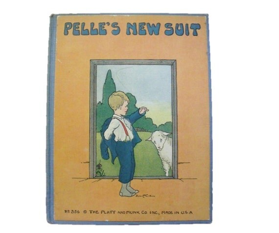 Pelle's New Suit - 1930 first edition - Illustrations by Eulalie