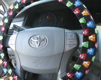 The Beatles * Steering Wheel Cover * John Paul Ringo George