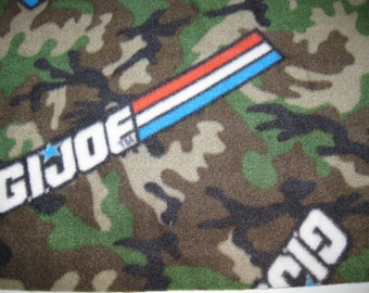 500+ Scarf Prints at SylMarCreations! * Only One * GI Joe Camo Winter Fleece Scarf * 12 W x 58 L