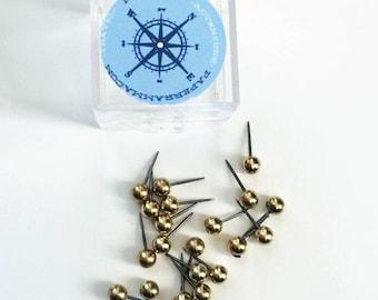 Map Pins // Interactive Map Pins, Map Tacks, Map Push Pins // Set of Extra Pins for your Interactive Map // H-I20-1PS