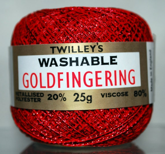 Twilleys Goldfingering Thread Usa From Sueallencrochet On
