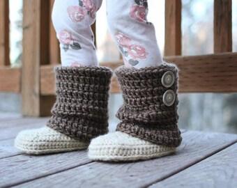 Crochet Pattern - Audrey Boots