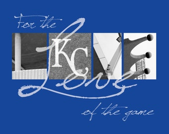 "Kansas City Royals ""For the Love of the Game Photographic Print"""