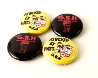 G.B.H 1inch Pinback Button or Magnet
