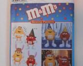 M & M's Characters Pattern Simplicity 8994 UNCUT