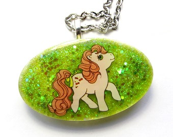 Cherries Jubilee G1 My Little Pony Necklace