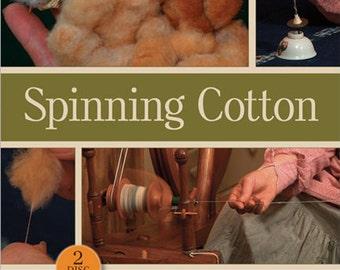 Spinning Cotton by Staphenie Gaustad (DVD)
