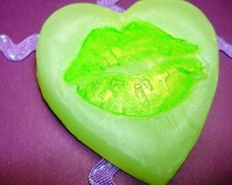 Kiss Me I'm Irish Awesome Vegan Saint Pattys Day Soap