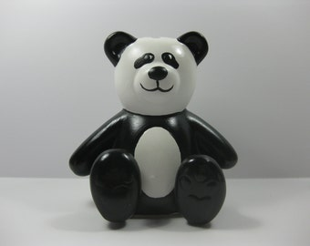 Popular Items For Panda Bear Bank On Etsy
