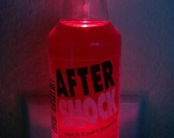 After Shock mini liquor bottle LED night light
