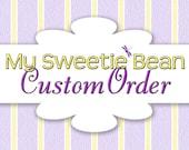 Custom Order for MS - Set of 5 Medium Felt Bows on No Slip Alligator Clips