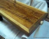Enter the etys.com coupon LEAPYEAR2016 at etsy checkout for a 29% discount!  Kathryn Janeway - Artisan Cribbage Board
